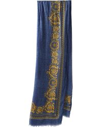 Versace Crowning Achievement Shawl - Lyst