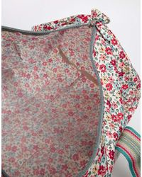 Cath Kidston - Foldaway Barrel Bag in Garden Disty Print - Lyst