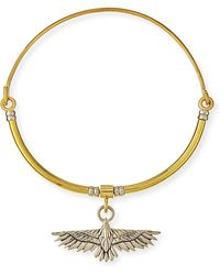 Pamela Love - Aguila Collar Necklace With Pendant - Lyst