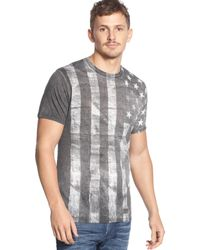 Guess Stranded Flag T-shirt - Lyst