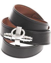 Givenchy - Triplewrap Leather Obsedia Cuff - Lyst