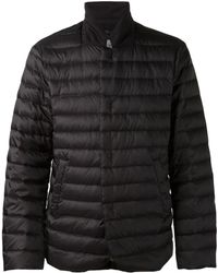 Armani Black Padded Jacket - Lyst