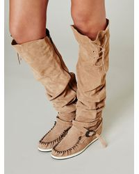 Free People Monarch Mocc Boot - Lyst