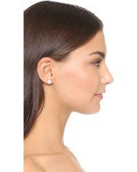 Auden - Hannah Swarovski Imitation Pearl Earrings - Lyst
