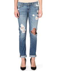 Paige Jimmy Jimmy Skinny Midrise Jeans Clifton Destruct - Lyst