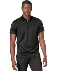 Calvin Klein Slim Fit Mercerized Stripe Polo Shirt - Lyst