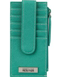 Kenneth Cole Reaction - Snap Tab Credit Card Panel - Lyst