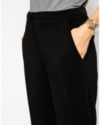 Asos Luxe Cigarette Pant - Lyst