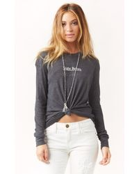 Wildfox Official Walk Of Shame Tee - Lyst