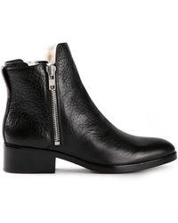 3.1 Phillip Lim Alexa Shearling Boots - Lyst