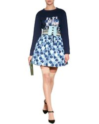 Olympia Le-Tan Cotton Fish Scale Skirt - Lyst