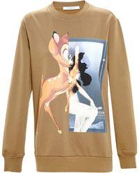 Givenchy Bambi Sweatshirt - Lyst