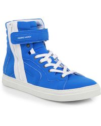 Pierre Hardy Neoprene High-top Sneakers - Lyst