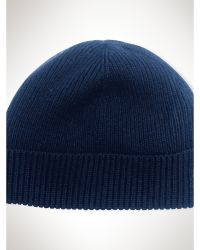 Polo Ralph Lauren Merino Wool Cuffed Hat - Lyst