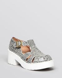Jeffrey Campbell Platform Fisherman Sandals Gifford - Lyst