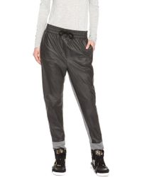 DKNY Pure Coated Terry Sweatpant - Lyst