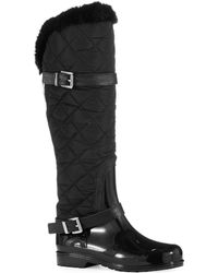 Michael by Michael Kors Fulton Quilted Rainboots - Lyst