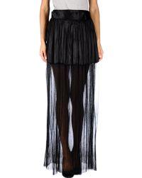 Haider Ackermann Long Skirt black - Lyst