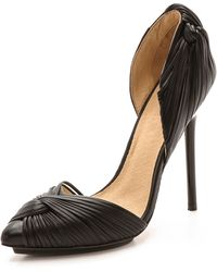 L.a.m.b. Warner Dorsay Pumps - Black - Lyst