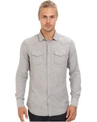 Diesel Gray Strial Shirt - Lyst