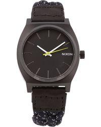 Nixon The Time Teller Watch - Lyst