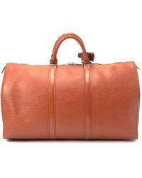 Louis Vuitton Epi Keepall 50 Handbag - Lyst
