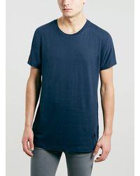 Topman Lux Navy Kimono T-shirt - Lyst