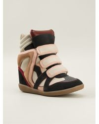 Isabel Marant Hi-top Sneakers - Lyst
