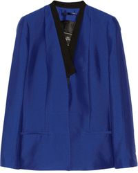 By Malene Birger Taylan Silk and Cottonblend Blazer - Lyst