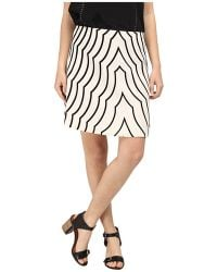 Marc By Marc Jacobs Radio Waves Print Skirt - Lyst