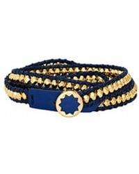 House Of Harlow 1960 Karma Wrap Bracelet blue - Lyst