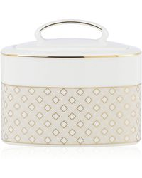 Kate Spade Waverly Pond Sugar Bowl With Lid - Lyst