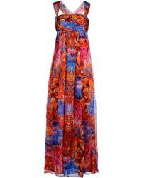 Bgn Long Dress - Lyst