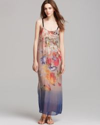 Twelfth Street by Cynthia Vincent Maxi Dress Floral Classic - Lyst