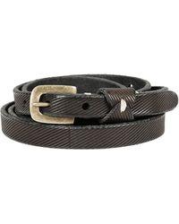 Pomandere Textured Wrap Belt - Lyst