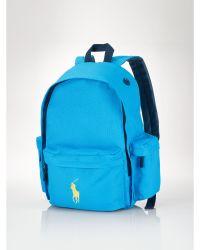 Ralph Lauren Big Pony Backpack - Lyst