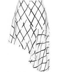 Balenciaga Printed Skirt - Lyst