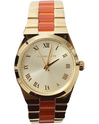 Michael Kors Round Bracelet Watch - Lyst