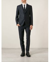 Tagliatore Bthree Piece Suit - Lyst