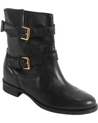Kate Spade Sabina Leather Boots - Lyst