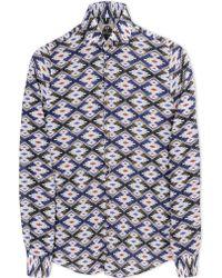 Mitchumm Industries Long Sleeve Shirt white - Lyst