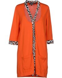 Just Cavalli Orange Cardigan - Lyst