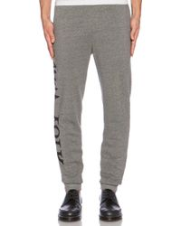 Assembly New York Gray Graphic Sweatpant - Lyst