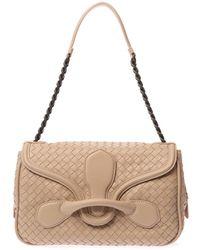 Bottega Veneta Rialto Intrecciato Leather Shoulder Bag - Lyst