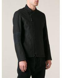 Helmut Lang Black Asymmetric Jacket - Lyst