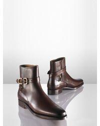 Ralph Lauren Macon Calf Boot - Lyst