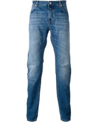 Closed Stone Washed Jeans - Lyst