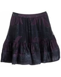 Cynthia Rowley Hawaiian Quilt Print Ruffle Skirt - Lyst