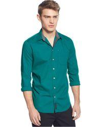 Calvin Klein Jeans Dot Shirt - Lyst