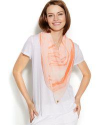 Calvin Klein Horizons Convertible Scarf Vest - Lyst